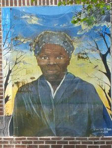Mural of Harriett Tubman on Maryland's Eastern Shore. Photo: Michael Cottman.