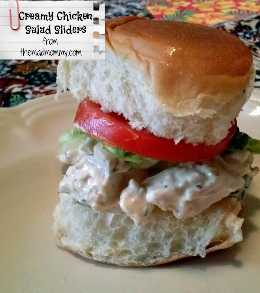 Creamy Chicken Salad Sliders…