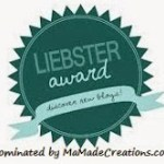 I was nominated for the Liebster Award!!!!!