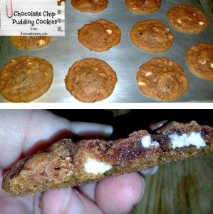 Chocolate Chip Pudding Cookies…