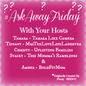Ask Away Friday: 90's Flashback Style!