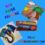 Wax Paper Painting!