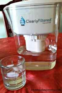 ClearlyFiltered Water Pitcher