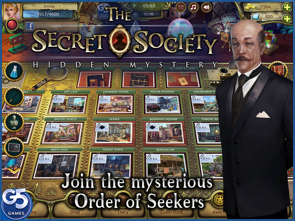 The Secret Society!