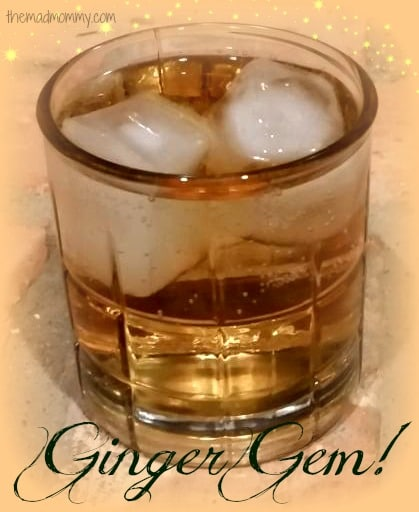 Ginger Gem: A cocktail from themadmommy.com