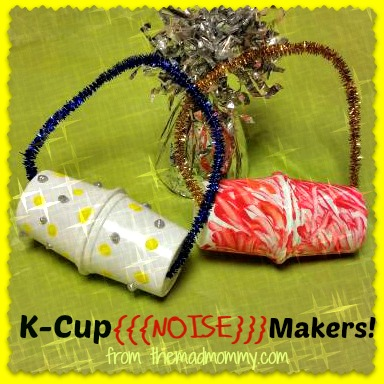used k-cup noise makers themadmommy.com