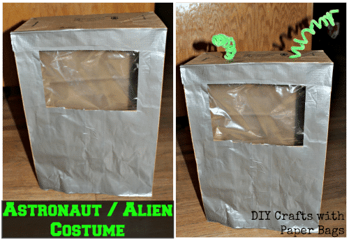 DIY Astronaut-Alien Costume