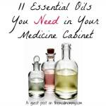 11 Essential Oils You Need in Your Medicine Cabinet