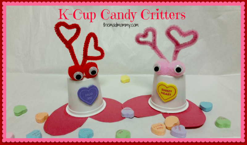 Make these adorable, candy holding K-Cup Valentine Critters for your valentine this year!