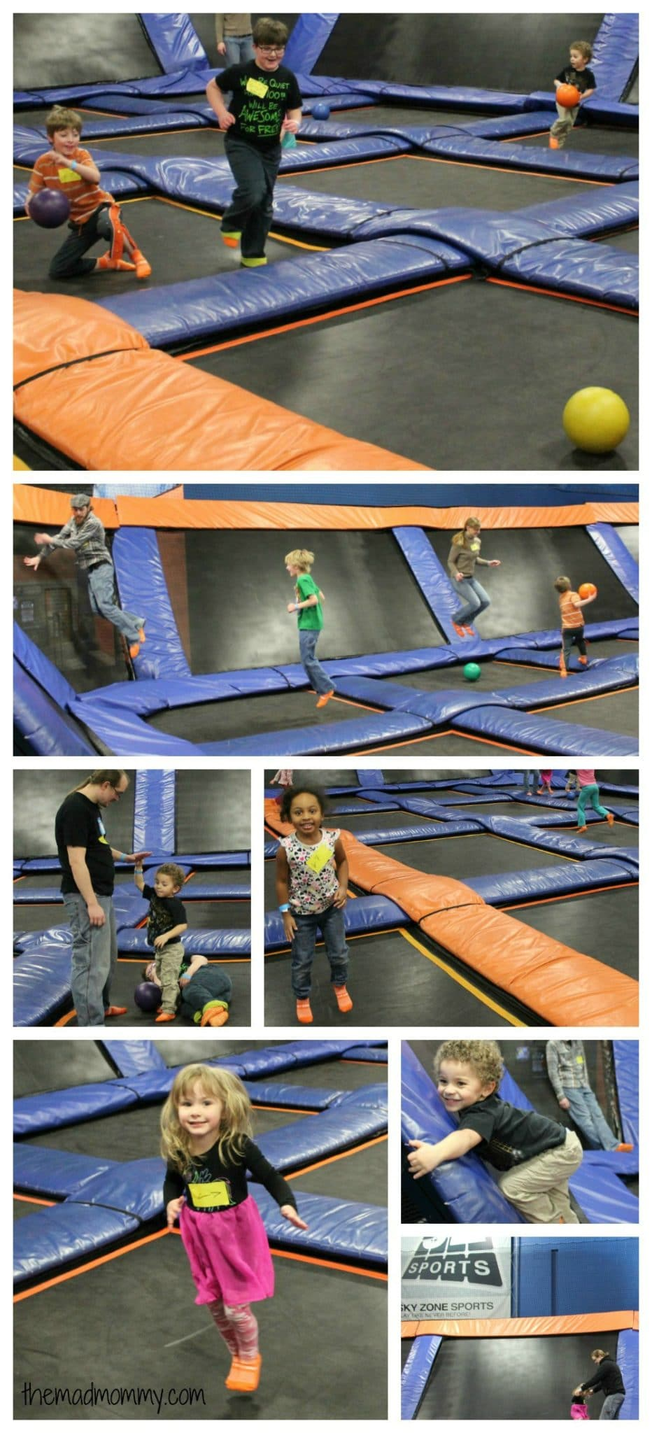 sky zone birthday party themadmommy.com