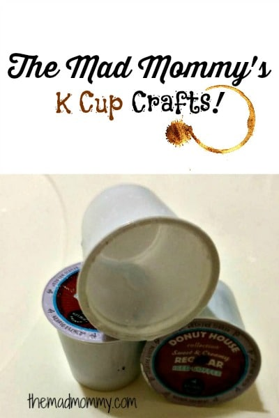Come check out all of the kcup craft ideas that I have made on themadmommy.com!