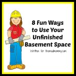 8 Fun Ways to Use Your Unfinished Basement Space