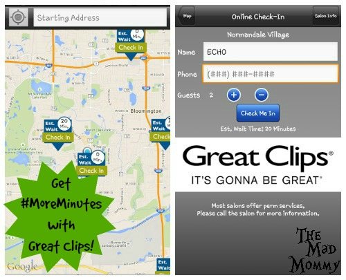 Get #MoreMinutes with Great Clips