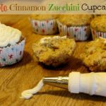 Everything is better when it's a cupcake! Just like these Apple Cinnamon Zucchini Cupcakes!