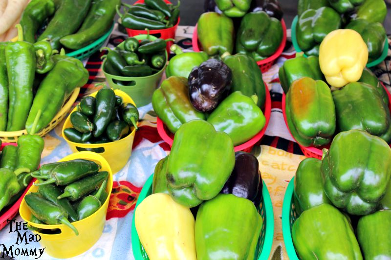 Peppers at the Farmer's Market