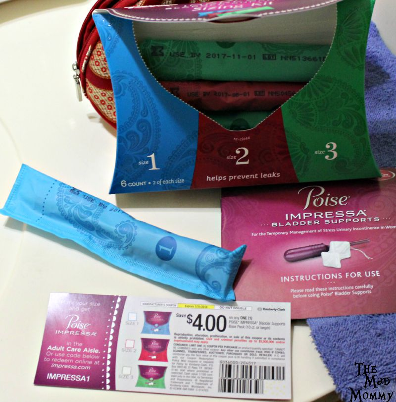 Gain confidence and prevent leaks with the Poise Impressa Bladder Support sizing kit. #ad #CollectiveBias #LifeAfterLeaks