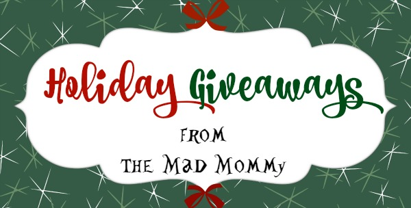 Check out all of these amazing Holiday Giveaways from The Mad Mommy!