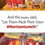 "And the mom said, ""Let Them Pack Their Own Lunches!"""