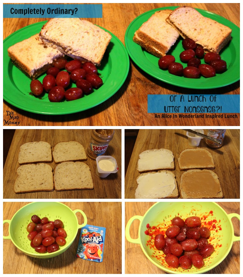 How to make A Lunch Of Utter Nonsense inspired by Alice In Wonderland!
