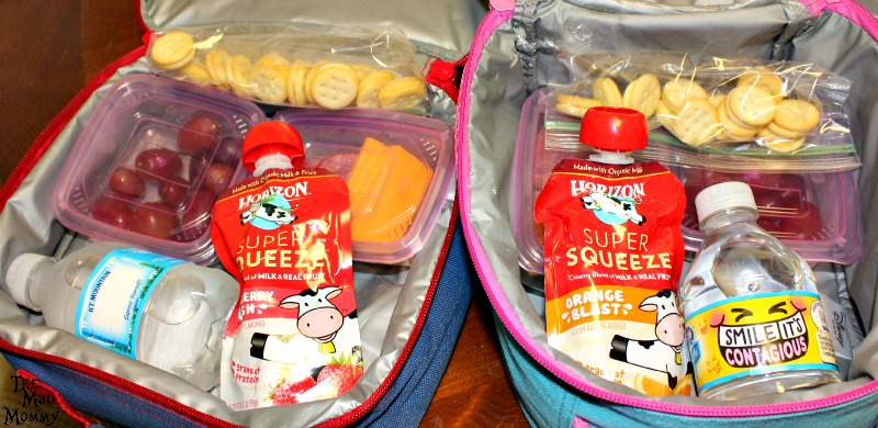 It's so much easier for your kids to pack their own lunches with the new #HorizonLunch options! #ad #CollectiveBias