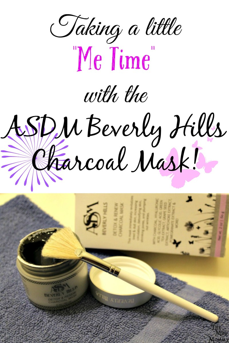 "This Detox and Renew Charcoal Mask from ASDM Beverly Hills is the perfect way to spend a little ""Me Time""."