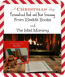 A Christmas Bear (Personalized Book and Bear) Giveaway!