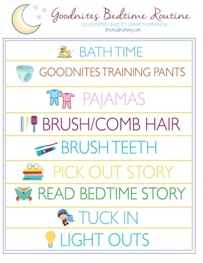 GoodNites Bedtime Routine from themadmommy.com #RestEasySolutions #CollectiveBias #ad