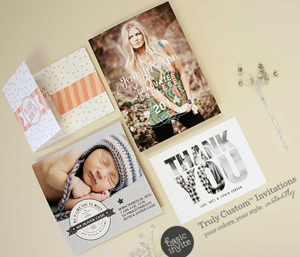 When it Comes to Completely Customizable Stationery, Basic Invite Has Your Back!