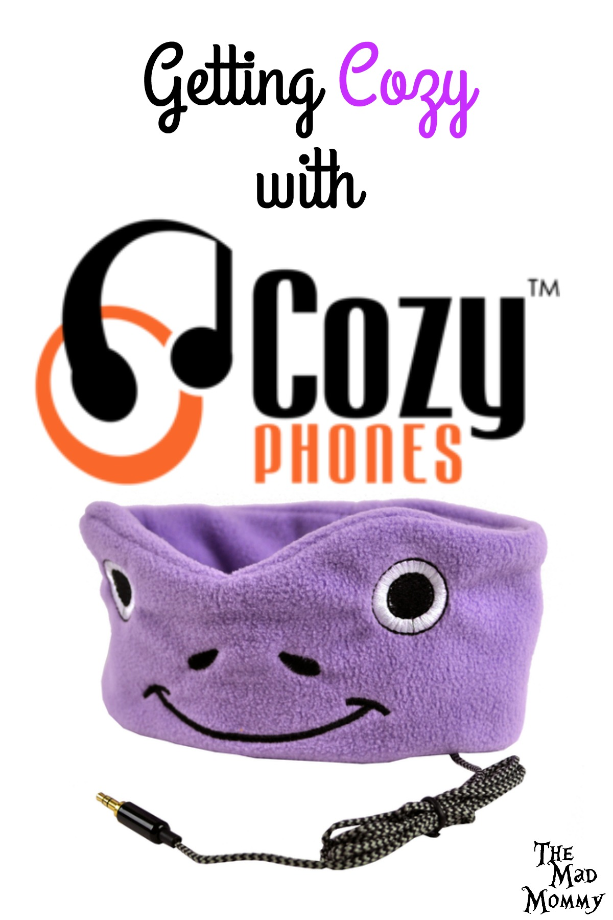 CozyPhones are super soft, flexible fleece headbands with headphones inside! Totally awesome for kids and adults!