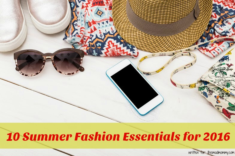Here are 10 summer fashion essentials that you'll want to make sure are in your closet this summer.