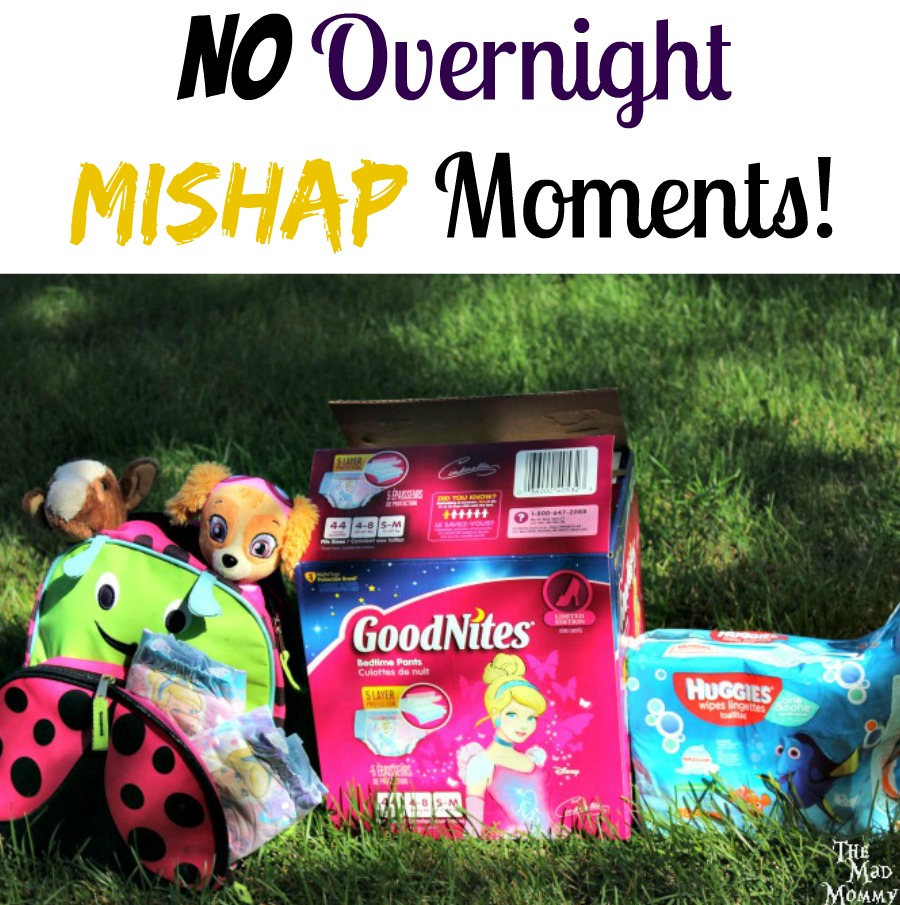 Never worry about overnight #mishapmoments with GoodNites! #ad
