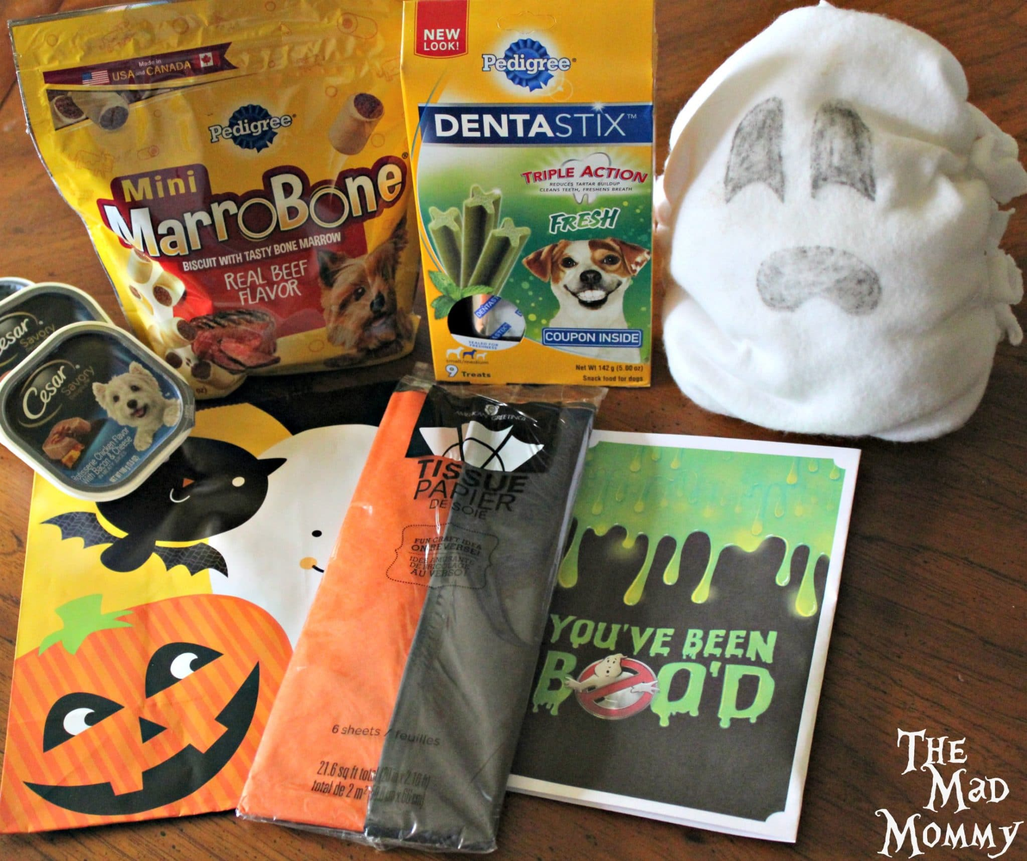 We found everything for the #PawfectBOO kit right at Walmart! #CollectiveBias #BOOItForward #ad