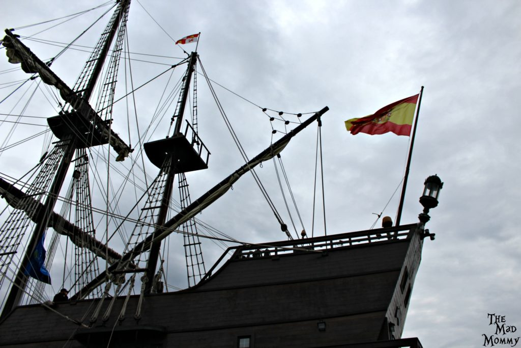 El Galeon at the Tall Ships in Duluth.