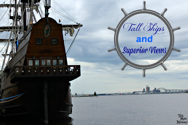 Have you ever seen Tall Ships? Old Spanish sailing vessels or vessels from a Naval brigade? I am happy to say that we finally have! This year, my family got to experience the Tall Ships in Duluth on Lake Superior!
