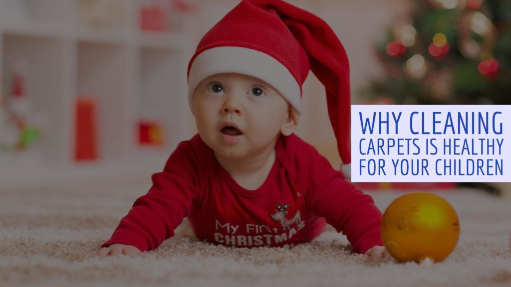 With the help of Sears Clean, here are some ways that cleaning your carpets are beneficial to the health of any young children that are either in your family, or that will be passing through for the holidays.