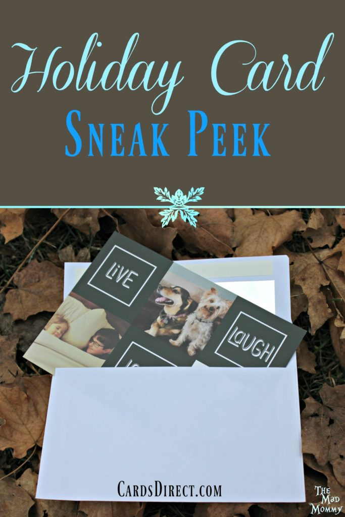 Making custom holiday cards can be fun and easy with CardsDirect.com!