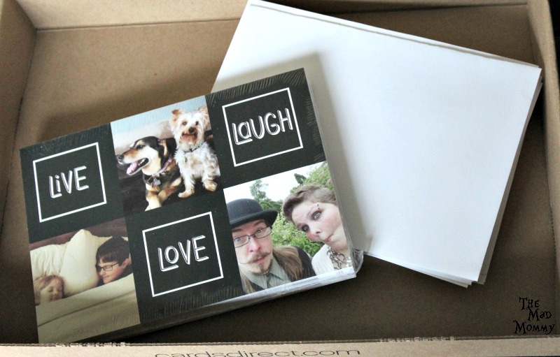 Our beautiful holiday cards and addressed, silver-lined, self-sealing envelopes!