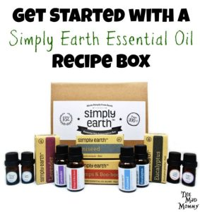 I have always wanted to get into essential oils. In fact I have been looking at them for years, but I always got lost. That is, until I received the Simply Earth Essential Oil Recipe Box!