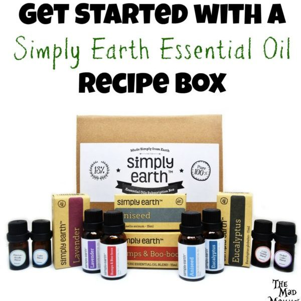 Get Started with A Simply Earth Essential Oil Recipe Box