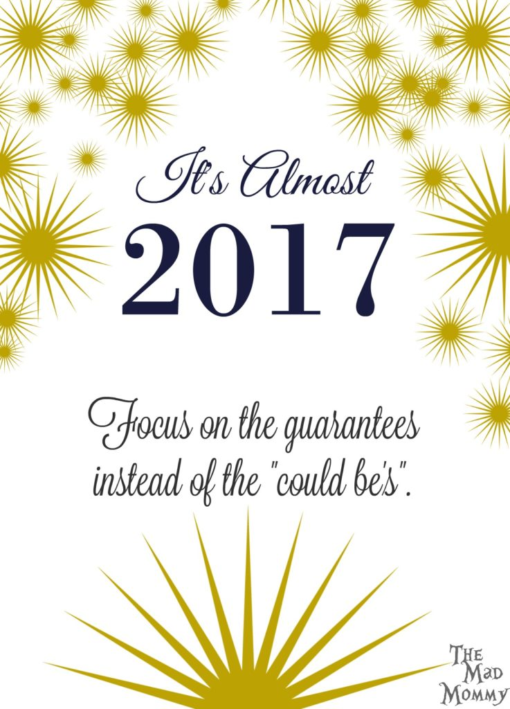 It's almost 2017 and I am not one for making resolutions that I constantly break. So rather that writing about things I want to try to change, I am going to write about things that I can guarantee you WON'T change in the new year.