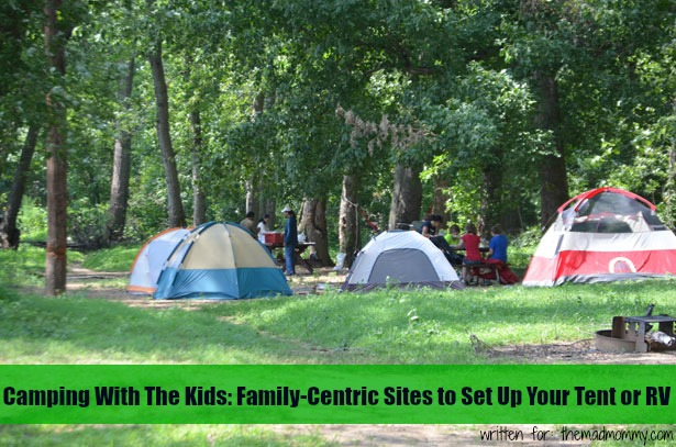 Take a look at the following site suggestions below to find a great variety of sites that have it all. Guaranteed to provide inspiration for your next family camping trip, any one of these sites will be great for kids.