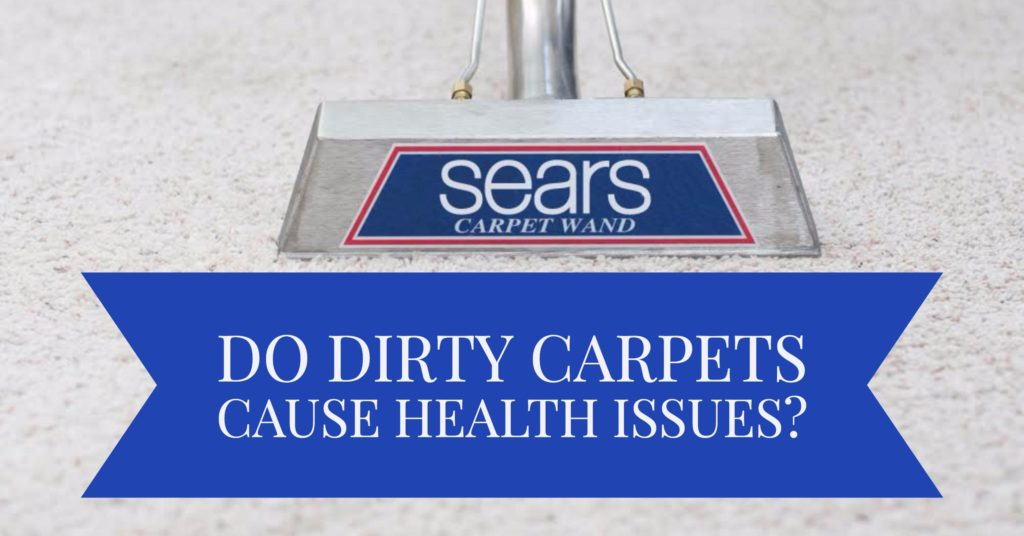 Carpets can contain bacteria just like any other surface can. The problem, however, is that vacuuming them does not get rid of them. Carpets aren't like windows — a little bit of Windex will not solve this problem. In fact, carpets are even more susceptible to bacteria and grime than other surfaces because the fibers have the ability to trap them down below where a vacuum can't reach.