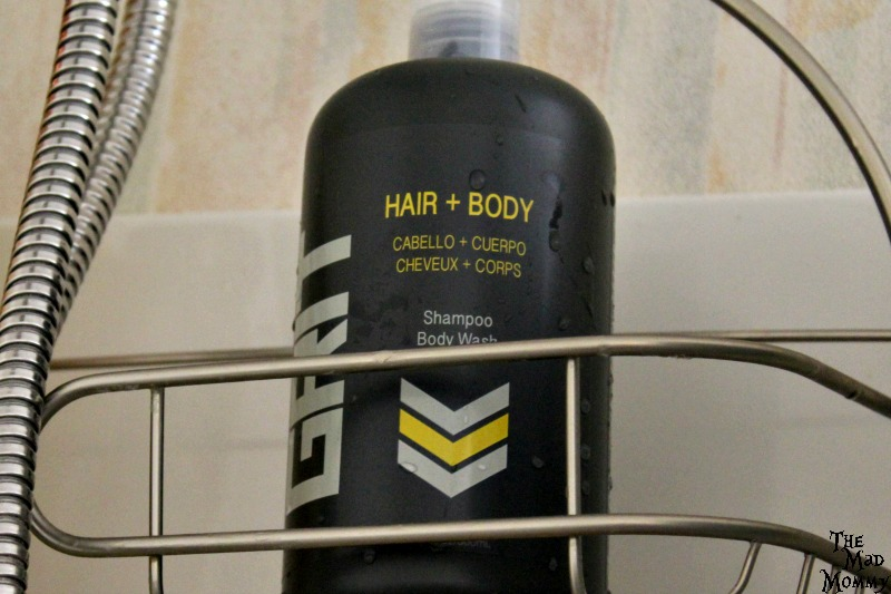 The new #GRITStyle Shampoo and Bodywash is great for young men to use in the shower! #ad