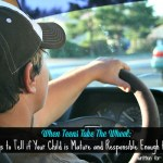 When Teens Take The Wheel: Ways to Tell if Your Child is Mature and Responsible Enough to Drive