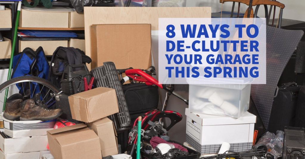With the help of Sears Garage Doors, here are eight ways to approach to getting your garage ready for spring.