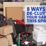 8 Ways to De-clutter Your Garage