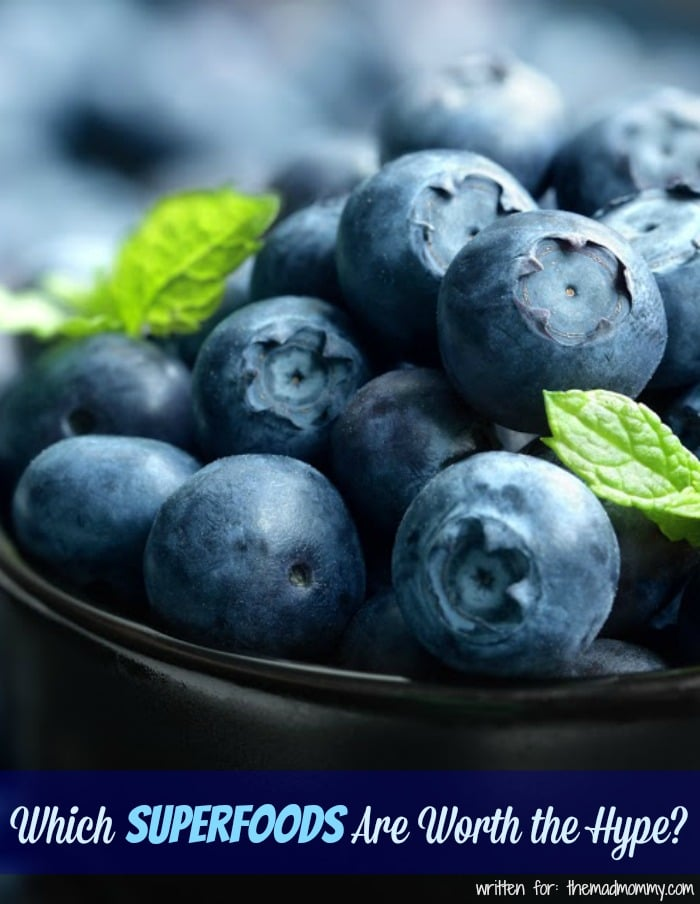 Some superfoods are worth the hype, and can help consumers feel energized, fresh, and stress-free.