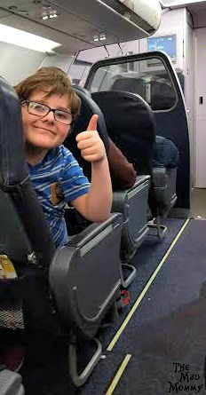 Celebrating our first successful flight with kids and #autism on #SpiritAirlines! #Sponsored #MoreGo
