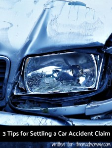 3 Tips for Settling a Car Accident Claim
