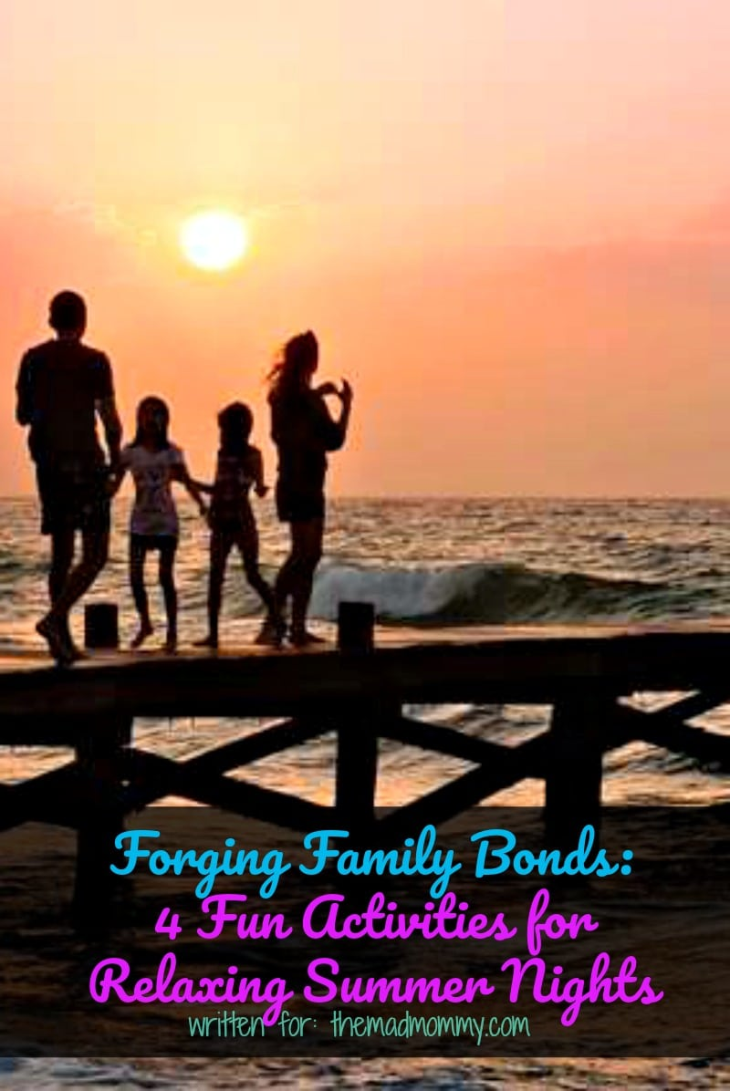 Relaxing with your family in the summertime is a satisfying experience. Summer nights seem more easy-going, especially if you do not have to get up early the next day for work. Try one of these four fun activities for families to do together.